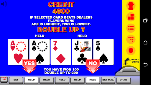 Video Poker with Double Up  screenshots 2