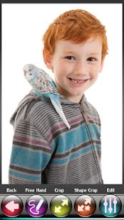 Ptáci Photo Crop Editor - náhled