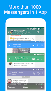 Messages, Text and Video Chat for Free