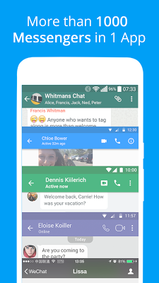 Messages, Text and Video Chat for Free - screenshot
