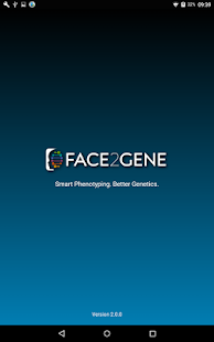 Face2Gene- screenshot thumbnail