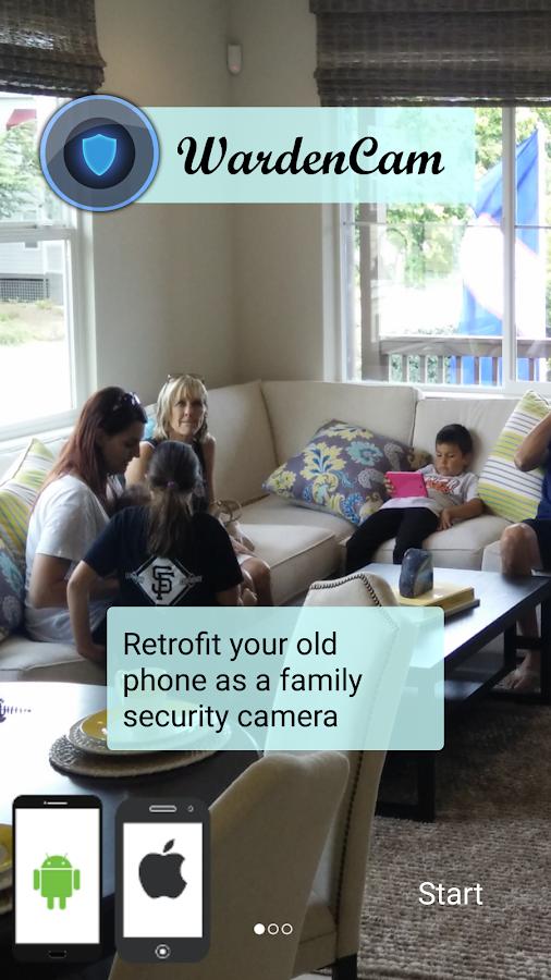 Home Security IP-Cam WardenCam- screenshot