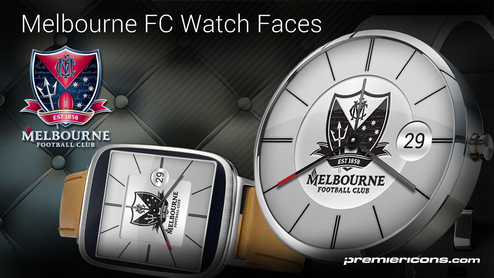 Melbourne FC Watch Faces- screenshot