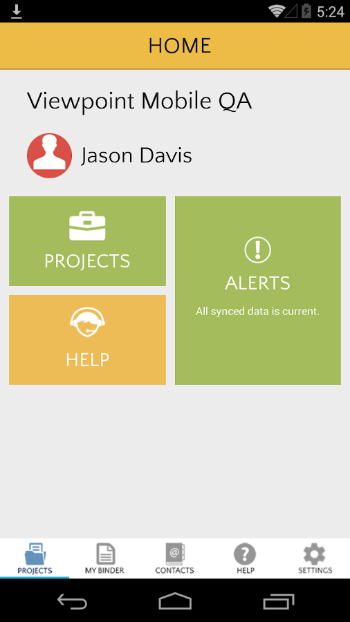 ProContractor Mobile- screenshot