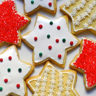 Gluten-Free, Dairy-Free Buttery Cut-Out Cookies with Royal Icing.