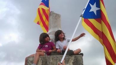 Photo: Per ells volem un país lliure...