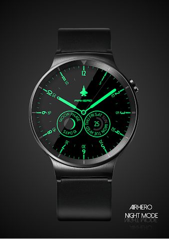 android Airhero Watch Face Screenshot 4