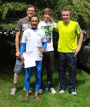 Photo: v. l. n. r. Klaus, Atul, Kai, Jan