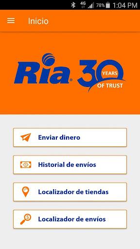 Ria Money Transfer Screenshot 1 2