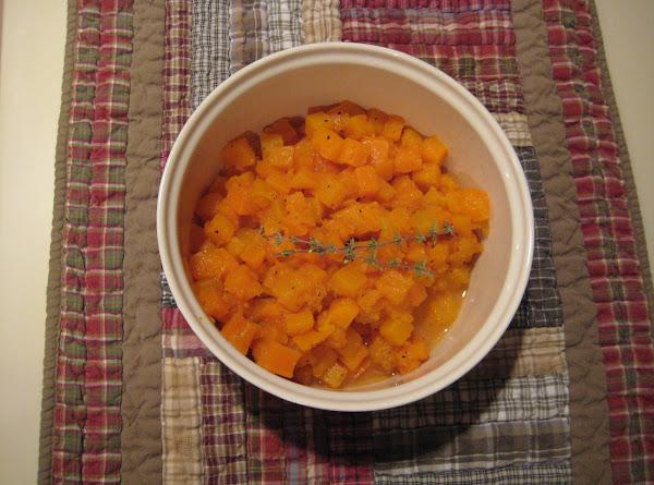 Ginger Squash Recipe
