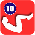 10 Minute Abs Workout icon