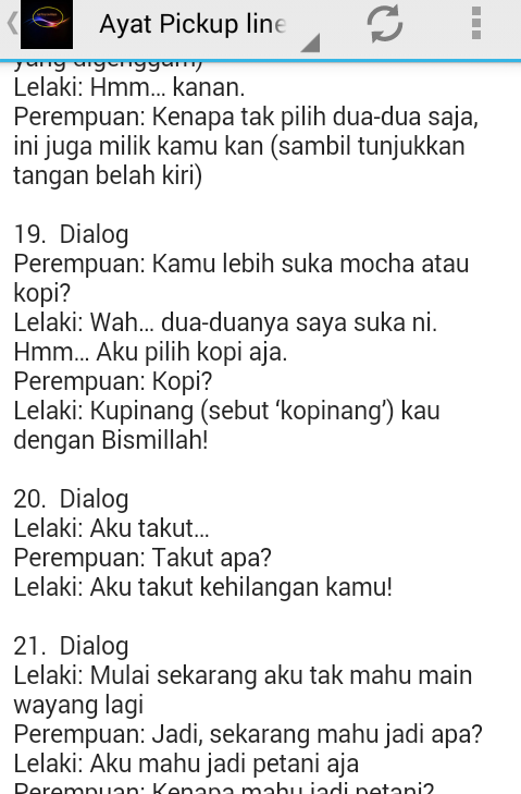 Ayat Pickup Line Malaysia - Android Apps on Google Play