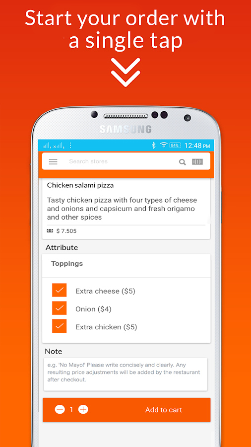 GetGo - Takeout service- screenshot
