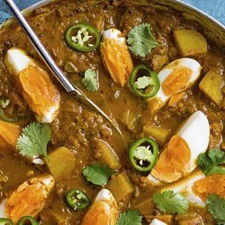 Bombay Egg And Potato Curry.