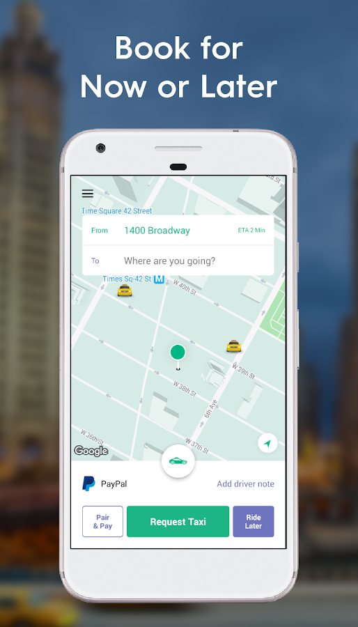 Curb - The Taxi App- screenshot
