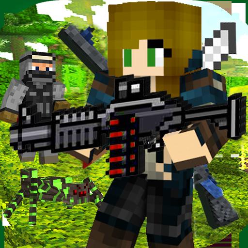 Clan Outlaw Gun Craft Royale Battle