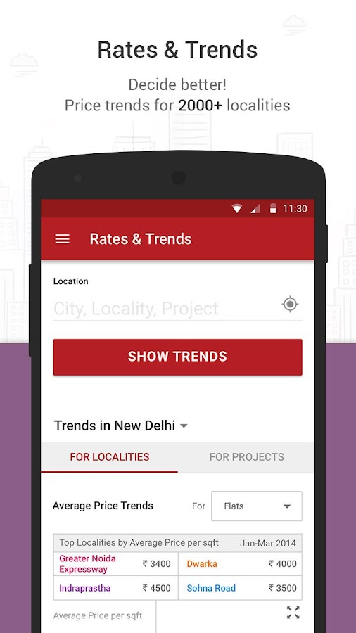 MagicBricks Property Search- screenshot