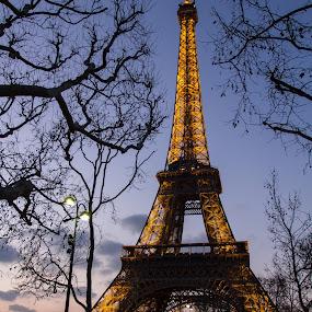 Tour Eiffel by Felea Adina - Travel Locations Landmarks ( tour eiffel france paris travel iron lattice tower high )