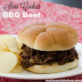 Slow Cooked BBQ Beef.