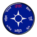 Compass in hindi icon