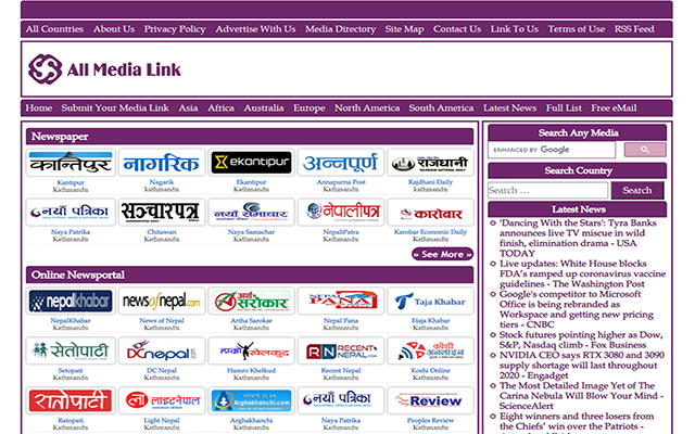 All Nepali Newspapers Online