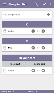 AddIt - Shared Shopping List screenshot 2