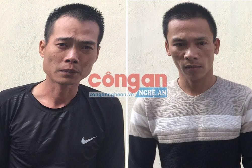 2 đối tượng Nguyễn Quốc Dũng và Chu Quang Vĩnh