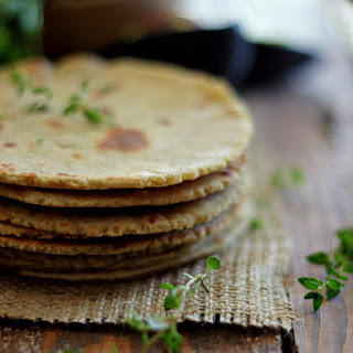 Quinoa and Brown Rice Flour Tortillas