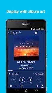 SongPal:Bluetooth/Wi-Fi remote- screenshot thumbnail