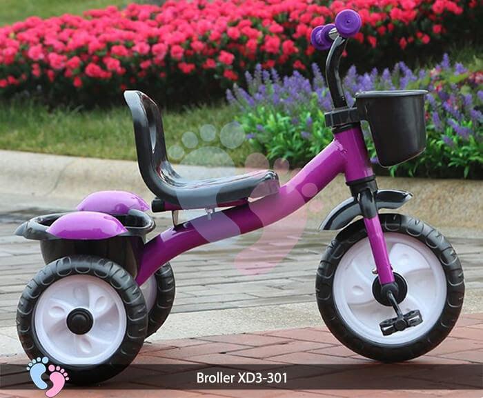Xe đạp ba bánh trẻ em Broller XD3-301 8