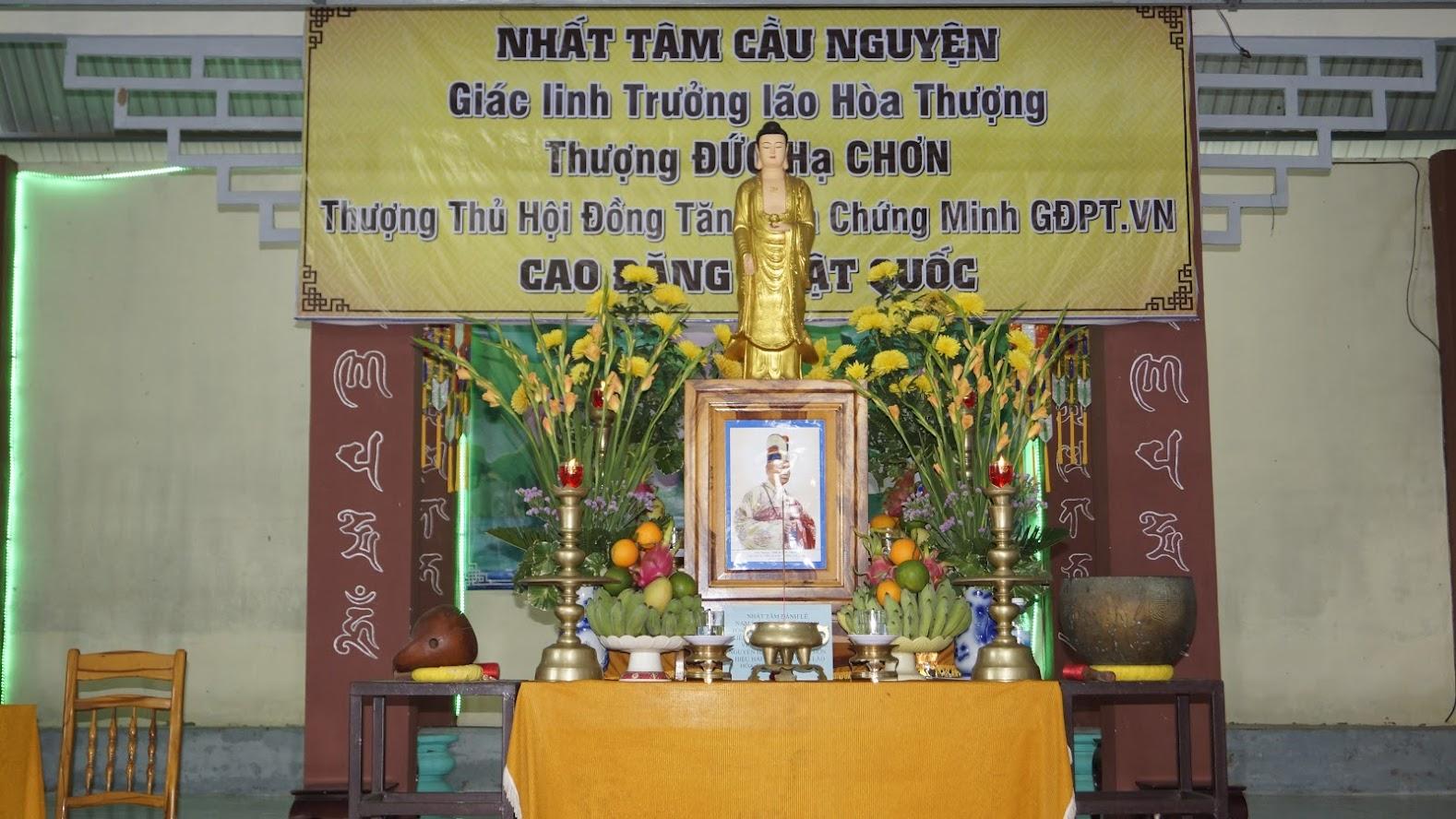 Lễ tưởng niệm – thọ tang Cố Trưởng lão HT thượng Đức hạ Chơn