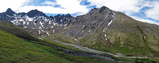 Photo: Matanuska Peak massif