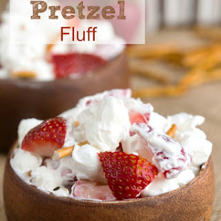 Strawberry Pretzel Fluff