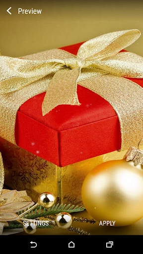 Foto do Christmas Gift Live Wallpaper
