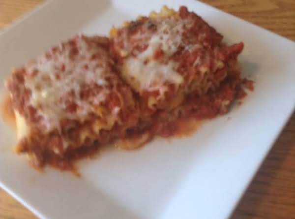Lasagna Roll Ups Recipe