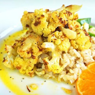 Orange Roasted Cauliflower