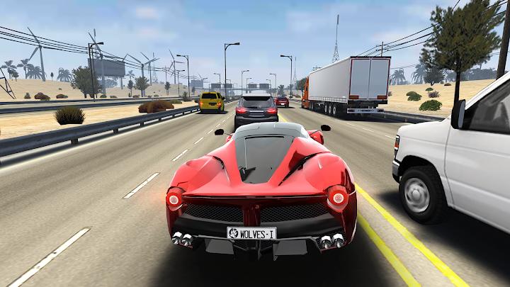 Traffic Tour: Multiplayer Racing Android App Screenshot