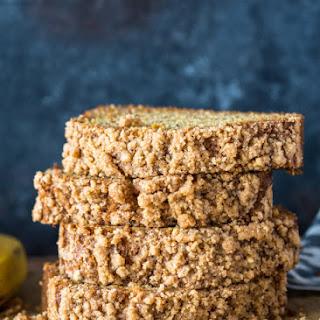 Healthier Cinnamon Crunch Banana Bread.