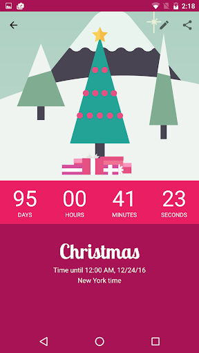 Countdown by timeanddate.com screenshot
