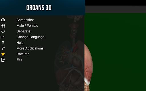 Internal Organs in 3D (Anatomy) 2.0.9 screenshots 10