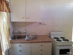 Photo: Küche, spartanisch, aber wer kocht schon....