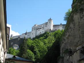 Photo: Salzburg Fortress.