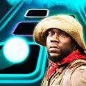 Jumanji Theme Song Tiles Neon Jump icon