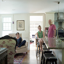 Photo: title: Elizabeth Orlic, Win + Selah Phillips, Falmouth, Maine date: 2015 relationship: friends, met through Moira Greenspun years known: Elizabeth 5-10; Win 0-5