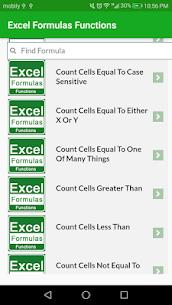 Learn Excel Formulas Functions Example App Offline 3