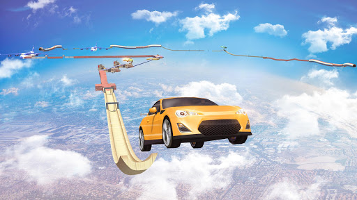 Mega Ramp Car Stunts Racing : Impossible Tracks 3D filehippodl screenshot 6