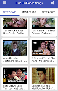 Hindi Old Songs Video App Download For Android 2