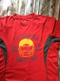 You can choose red with grey or just red shirt. $20 add $3 for 2XL or 3XL