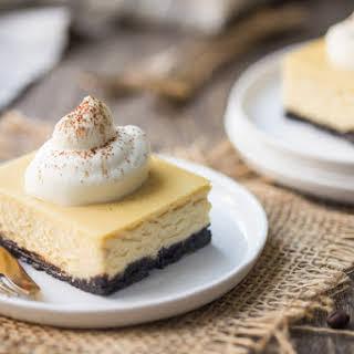 White Russian Cheesecake Bars.
