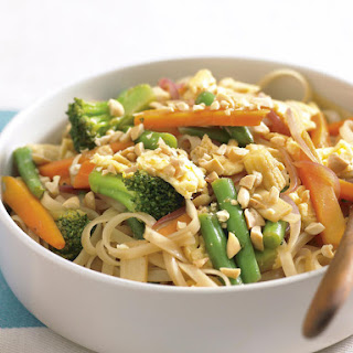 Scrambled Egg and Noodle Stir-Fry